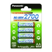 Фото Panasonic AA 2700mAh NiMh 4шт High Capacity (BK-3HGAE/4BE)