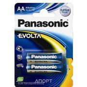 Фото Panasonic AA bat Alkaline 2шт EVOLTA (LR6EGE/2BP)