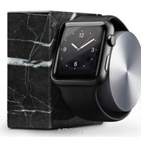 Фото Native Union Dock for Apple Watch Marble Edition (DOCK-AW-MB-BLK)