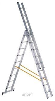 Фото ZARGES Трехсекционная многофункциональная лестница 3х7 (42537)