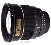 Фото Samyang 85mm f/1.4 AS IF Canon EF