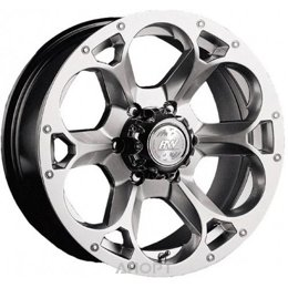 Racing Wheels H-276 (R16 W8.0 PCD5x139.7 ET10 DIA108.2)