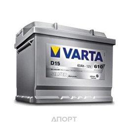 Varta 6СТ-63 SILVER dynamic (D15)