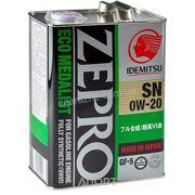Фото Idemitsu Zepro Eco Medalist 0W-20 4л