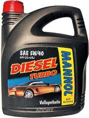 Фото Mannol Diesel Turbo 5W-40 5л