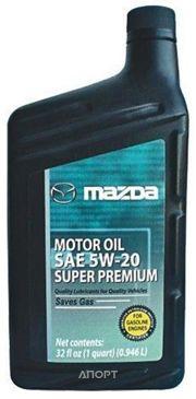 Фото MAZDA Super Premium 5W-20 0,946л (0000-77-5W20-QT)