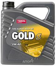Фото Teboil Gold S 5W-40 4л