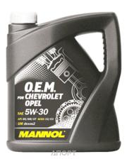 Фото Mannol O.E.M. for Chevrolet Opel 5W-30 4л