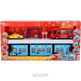 Dickie Toys Металлический городской автобус (3315712)