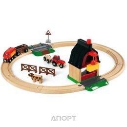Brio Железная дорога с мини-фермой (33719)