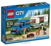Фото LEGO City Great Vehicles 60117 Фургон и дом на колёсах