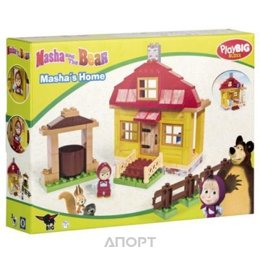 BIG Маша и Медведь 57096 Домик Маши