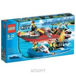 LEGO City 60005 Пожарный катер