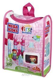 Фото MEGA BLOKS Маленькая принцесса Сверкающая башня (80431)