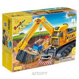 BanBao Строительство 8536 Экскаватор с ковшом