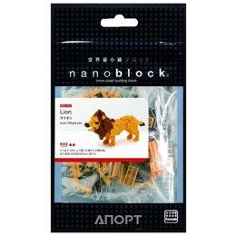 Nanoblock Miniature NBC-057 Лев
