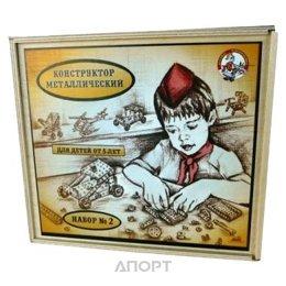 Десятое королевство Конструктор металлический №2 деревянная упаковка