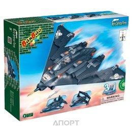 BanBao Военная техника 8477 Самолет трансформер