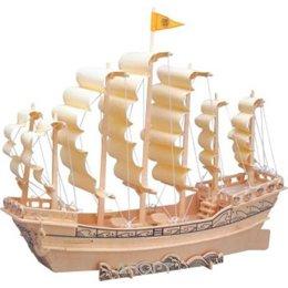 Wooden Toys P131 Парусник Династии Минь