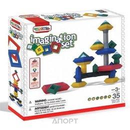 Wedgits Imagination Set 300652 35 деталей