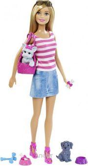 Фото Mattel Barbie Веселые питомцы (DJR56)