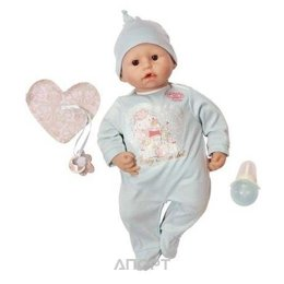 Zapf Creation Бэби Аннабель Кукла-мальчик с мимикой, 46 см, кор. (792216)