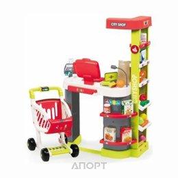 SMOBY Интерактивный супермаркет с тележкой (350211)