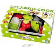 Фото Ecoiffier Набор посуды с сушкой Pro-Cook (1210)