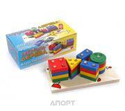 Фото Мир деревянных игрушек Пирамидка Клоун (Д224)