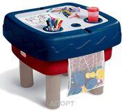 Фото Little Tikes Песочница-стол 2 в 1 Играем и рисуем (451T)