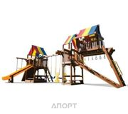 Фото Rainbow Play Systems Sunshine Clubhouse with Tower