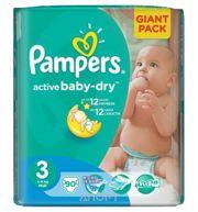 Фото Pampers Active Baby Midi 3 (90 шт.)