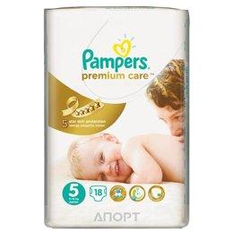 Pampers Premium Care Junior 5 (18 шт.)