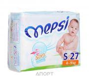 Фото Mepsi Soft&breathing S 4-9 кг (27 шт)