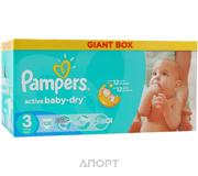 Фото Pampers Active Baby Midi 3 (108 шт.)