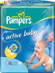 Фото Pampers Active Baby Maxi 4 (20 шт.)