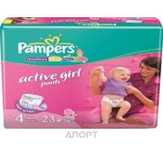 Фото Pampers Active Girl Maxi 4 (23 шт.)