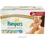 Фото Pampers Premium Care Midi 3 (120 шт.)