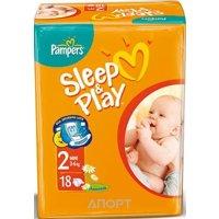 Фото Pampers Sleep&Play Mini 2 (18 шт.)