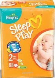 Фото Pampers Sleep&Play Mini 2 (88 шт.)