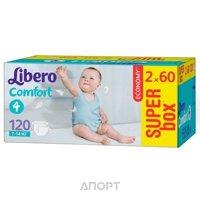 Фото Libero Comfort 4 7-14 кг (120 шт.)