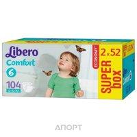 Фото Libero Comfort 6 12-22 кг (104 шт.)