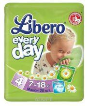 Фото Libero Everyday 4 7-18 кг (20 шт.)