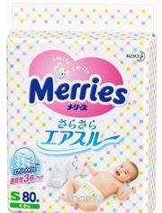 Фото Merries S 4-8 кг (80 шт.)