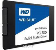 Фото Western Digital SSD Blue 500GB (WDS500G1B0A)