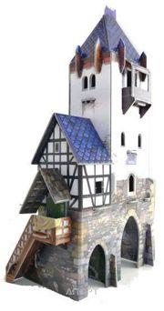 Фото Умная бумага Средневековый город Дозорная башня (201)