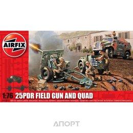 Airfix Полевая пушка 25 PDR и тягач Quad (AIR01305)