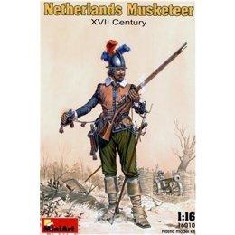 MiniArt Нидерландский мушкетер XVII в. (MA16010)