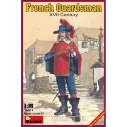 MiniArt Французский гвардеец XVII в. (MA16011)