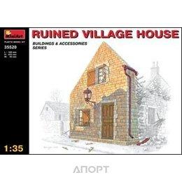 MiniArt Разрушенный деревенский дом (MA35520)